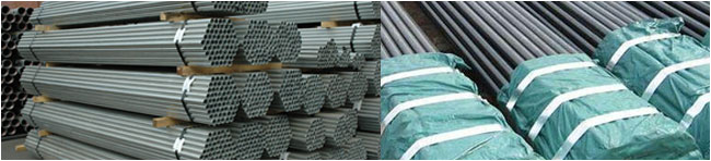 Mild Steel Seamless Pipe and Tubes packaging